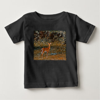 Artful Deer Baby T-Shirt