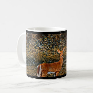 Artful Deer Coffee Mug