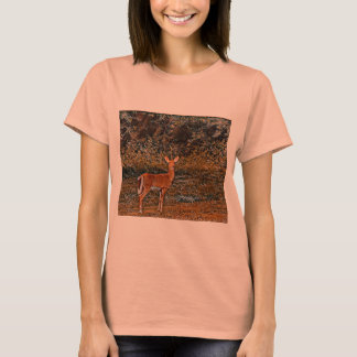 Artful Deer T-Shirt