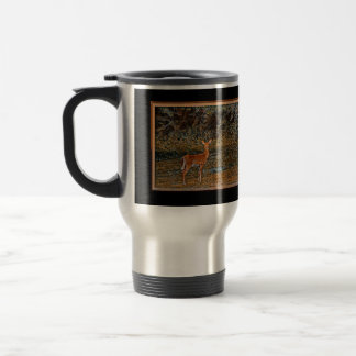 Artful Deer Travel Mug