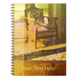 Artful Spaces Chair Notebook