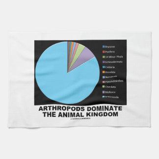 Arthropods Dominate The Animal Kingdom Hand Towels