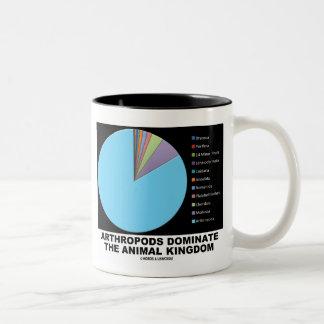 Arthropods Dominate The Animal Kingdom Two-Tone Coffee Mug