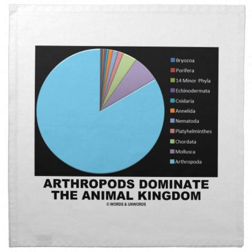 Arthropods Dominate The Animal Kingdom Printed Napkin