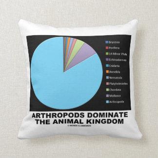 Arthropods Dominate The Animal Kingdom Throw Pillows