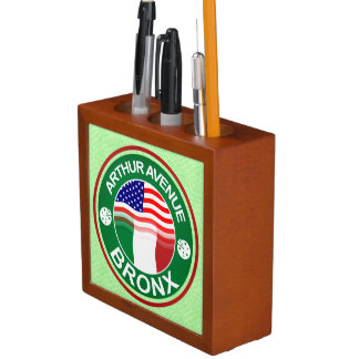 Arthur Ave Bronx Italian American Pen Holder