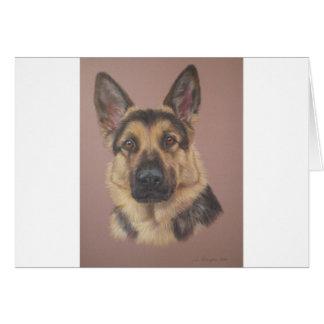Arthur - German Shepherd Card