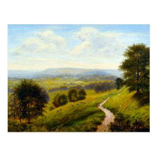 Arthur Gilbert Fieldside Pastures Postcard