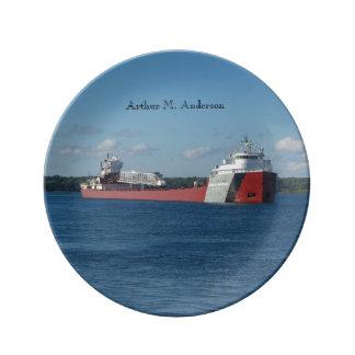 Arthur M. Anderson decorative plate