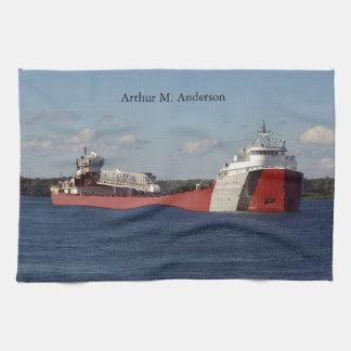 Arthur M. Anderson kitchen towel