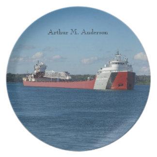 Arthur M. Anderson plate