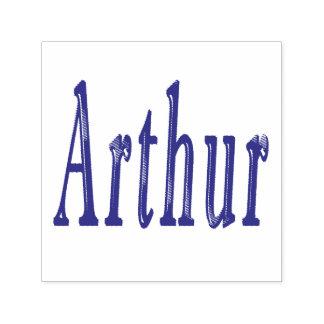 Arthur Name Logo, Self-inking Stamp