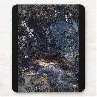 "Arthur rackham, ""Fairy tales"" Mouse Pad"