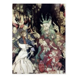 Arthur Rackham King Of Trolls Illustration Post Card