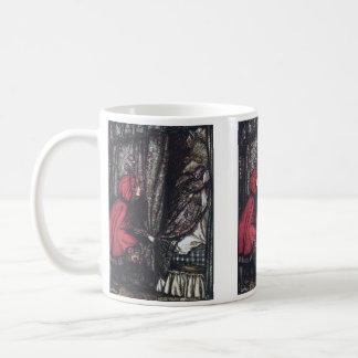"Arthur Rackham, ""Little Red Riding Hood"" Coffee Mug"