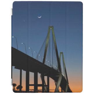 Arthur Ravenel Jr. Bridge at Dusk iPad Cover