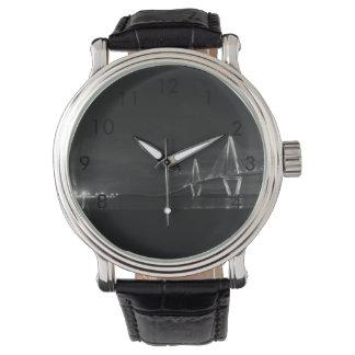 Arthur Ravenel Night Pano Grayscale Watch