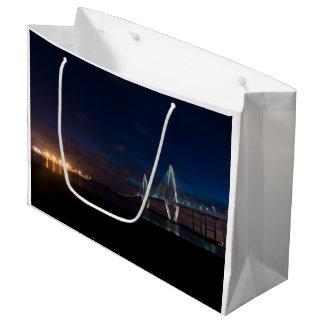 Arthur Ravenel Night Pano Large Gift Bag
