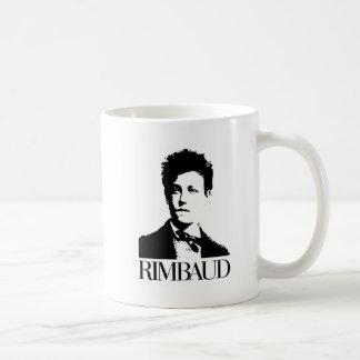 Arthur Rimbaud Basic White Mug