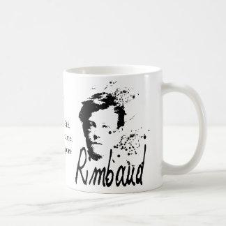 Arthur Rimbaud Bonne Pensée du Matin Poem Coffee Mug