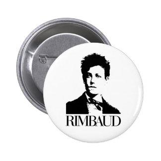 Arthur Rimbaud Button