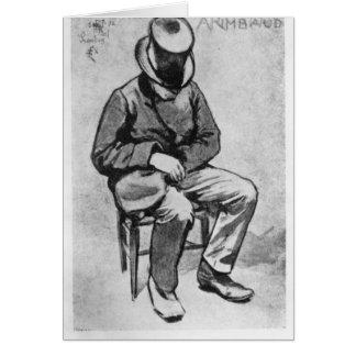Arthur Rimbaud Greeting Cards