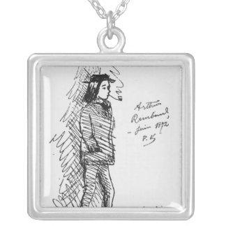 Arthur Rimbaud  June 1872 Custom Jewelry