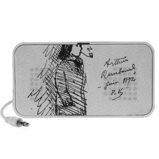 Arthur Rimbaud  June 1872 iPhone Speaker