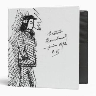 Arthur Rimbaud  June 1872 Vinyl Binders