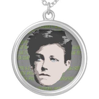 Arthur Rimbaud Necklace
