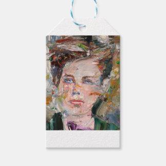 ARTHUR RIMBAUD - oil portrait Gift Tags