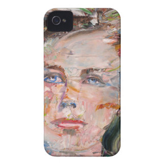 ARTHUR RIMBAUD - oil portrait iPhone 4 Cover