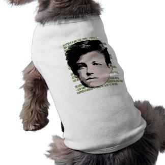 Arthur Rimbaud Pet Tshirt