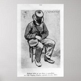 Arthur Rimbaud Poster