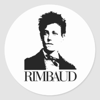 Arthur Rimbaud Round Sticker