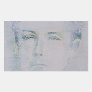 ARTHUR RIMBAUD - watercolor portrait.5 Sticker