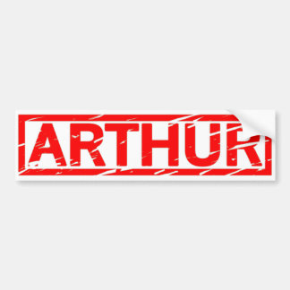 Arthur Stamp Bumper Sticker
