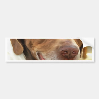 Arthur The Hunting Dog Bumper Sticker