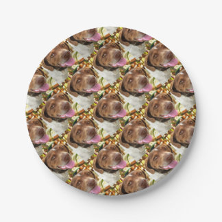Arthur The Hunting Dog Paper Plate