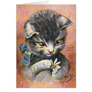 Arthur Thiele - Cat in Love Card