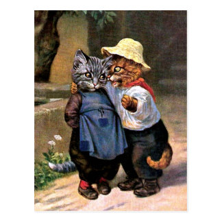 Arthur Thiele - Lovely Country Cats Postcard