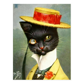 Arthur Thiele - Mr. Cat Postcard