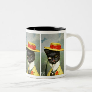Arthur Thiele - Mr. Cat Two-Tone Coffee Mug