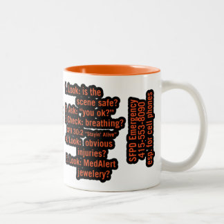Arthur Two-Tone Coffee Mug