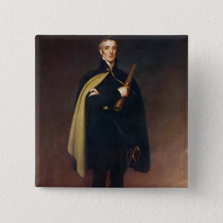 Arthur Wellesley  Duke of Wellington 2 Inch Square Button