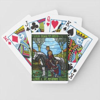 Arthurian Window Poker Deck