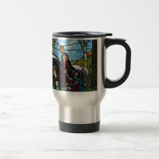 Arthurian Window Travel Mug