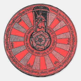 Arthur's round table round sticker