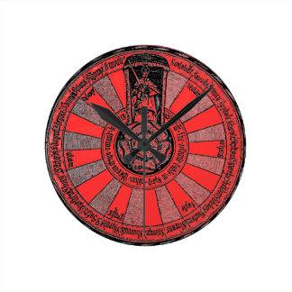 Arthur's round table wall clock