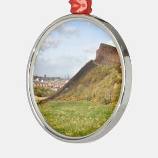 Arthur's Seat Metal Ornament
